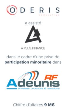 A Plus Finance – Adeunis RF