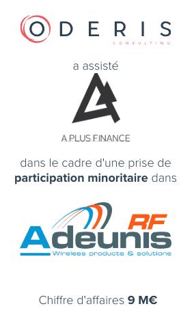 A Plus Finance – Adeunis RF