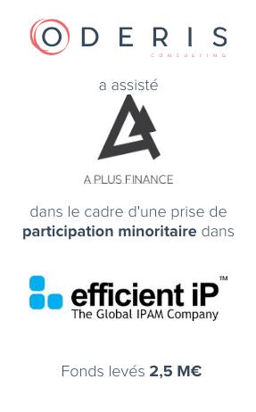 A Plus Finance – Efficient iP