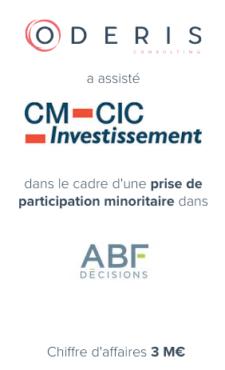 CM CIC – ABF Décisions
