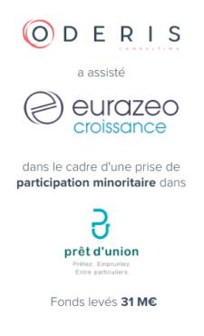 Eurazeo Croissance – Prêt d'Union