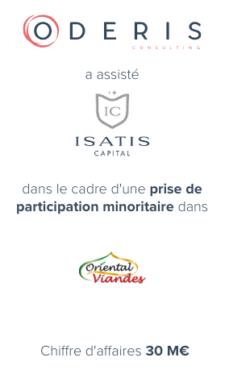 Isatis Capital – Oriental Viandes