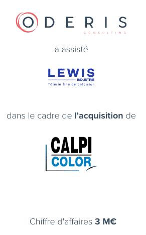 Lewis Industrie – Calpi
