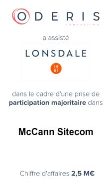 Lonsdale – Mccann Sitecom