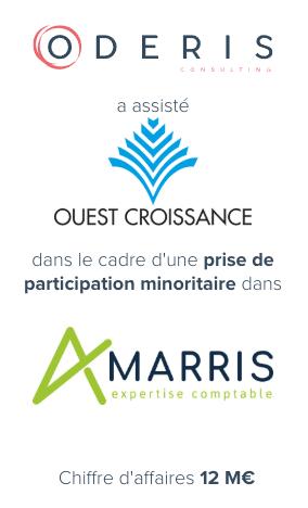 Ouest Croissance – BNP Paribas – Arkea Capital – Amarris Contact