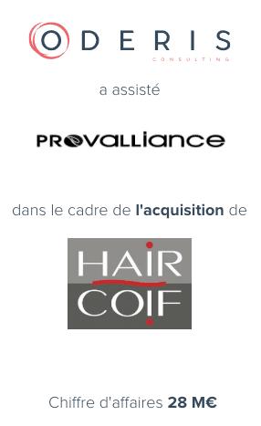 Provalliance – Haircoif